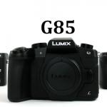 Panasonic Lumix G85, 4k Camera