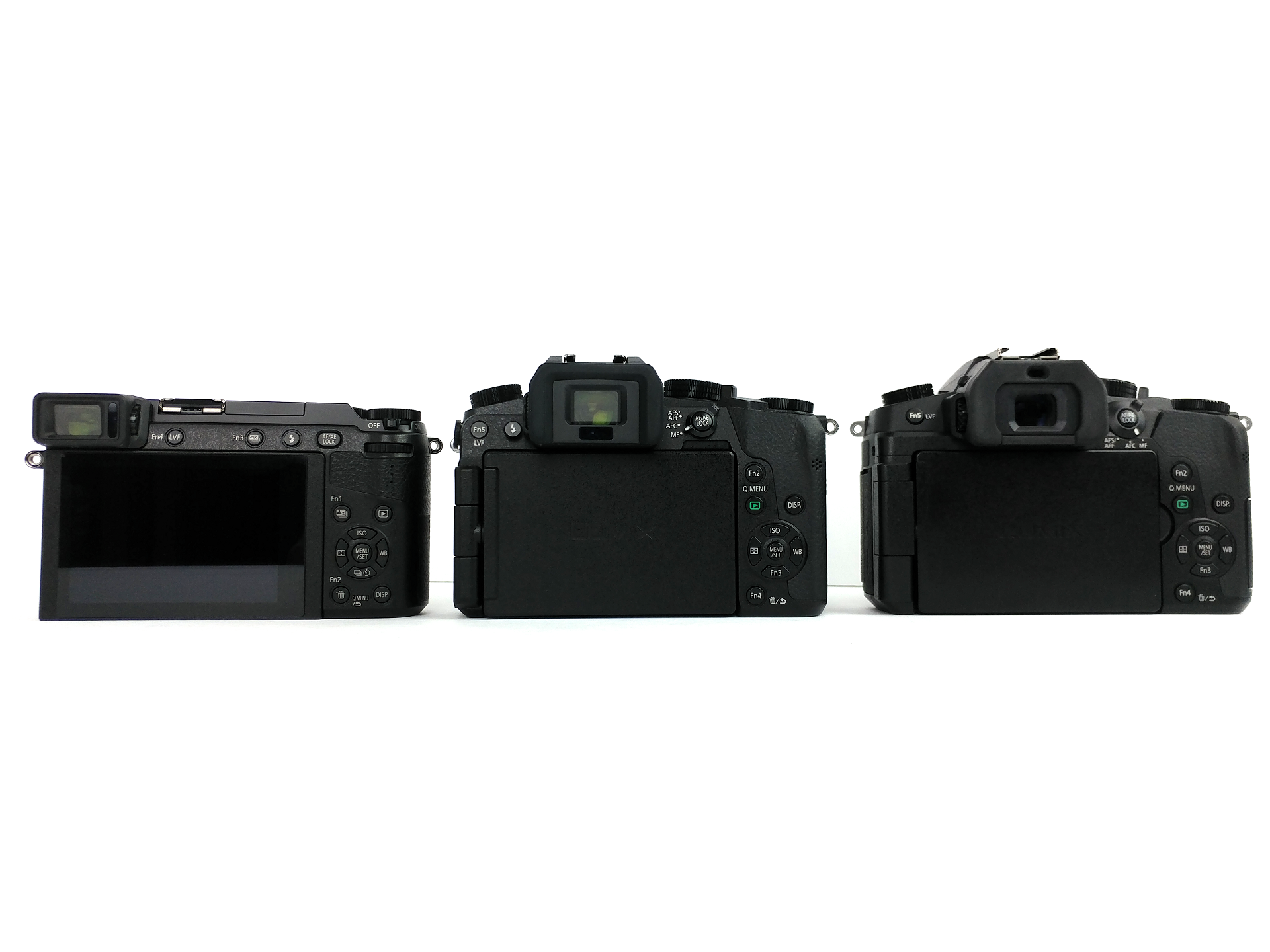 Panasonic Lumix G7, GX85, and G85 4K Camera