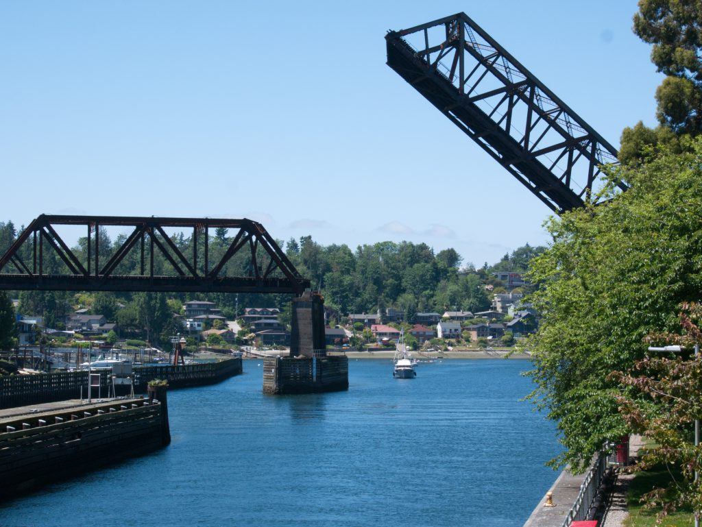 Ballard Locks (Before SnapSeed)